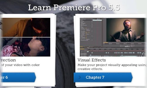 Learn Premiere Pro 5.5 screenshot 1