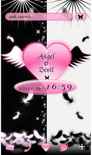 Gothic Theme Angel & Devil 1.0 Windows u7528 1