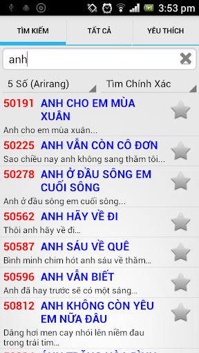 Karaoke 5 6 số