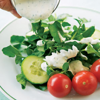 Watercress Salad with Ranch Dressing