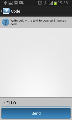 Morse Code CW - screenshot