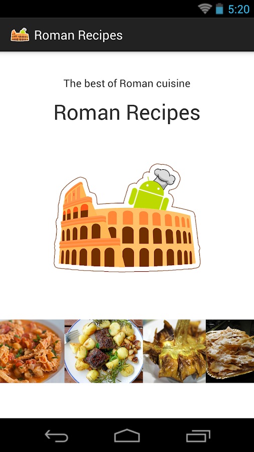 Roman Recipes FREE- screenshot