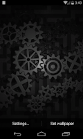 Screenshot of Gears 3D Live Wallpaper