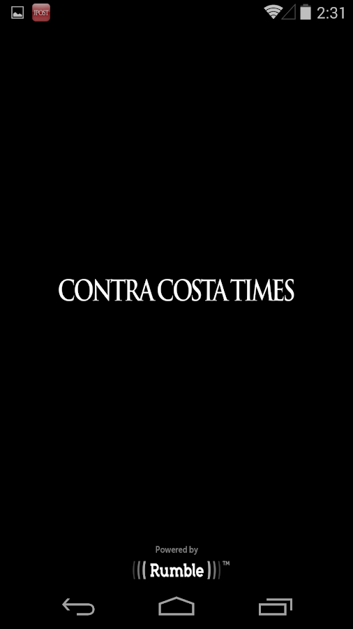 Contra Costa Times- screenshot