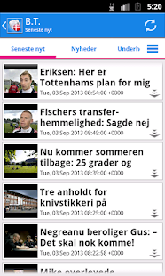 Danmark Nyheder- screenshot thumbnail