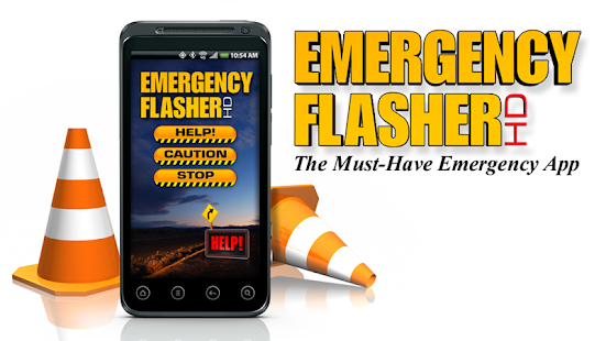 EMERGENCY FLASHER HD - screenshot thumbnail