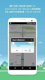 Waze - GPS, Maps & Traffic Screenshot 6