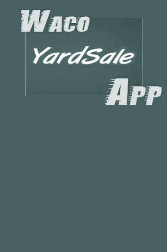 Waco Yard Sale Items Online