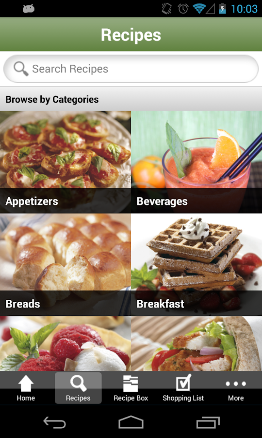 Cuisinart KitchenSync - screenshot
