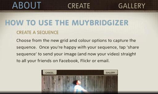 The Muybridgizer