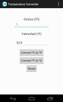 Farenheit to Celsius Converter
