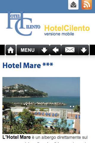 HotelCilento.it - screenshot