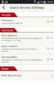 Screenshot of Westpac One Mobile Banking