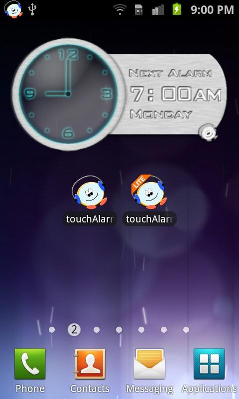 touchAlarm Lite: Alarm Clock - screenshot