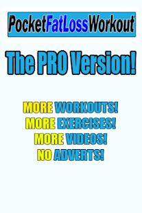 Pocket Fat Loss Workout PRO