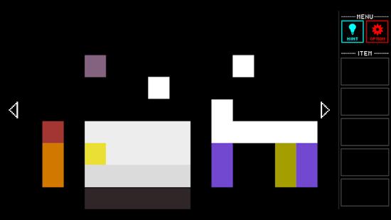 脱出ゲーム Pixel Room