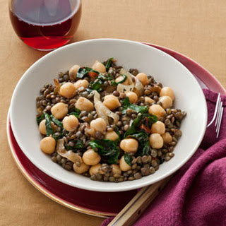Lentil and Chickpea Salad Recipe