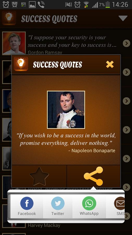 Success Quotes - screenshot