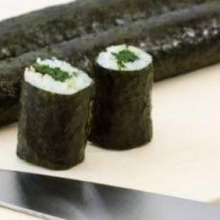 Spinazie-sushi Met Tonijn En Sesam