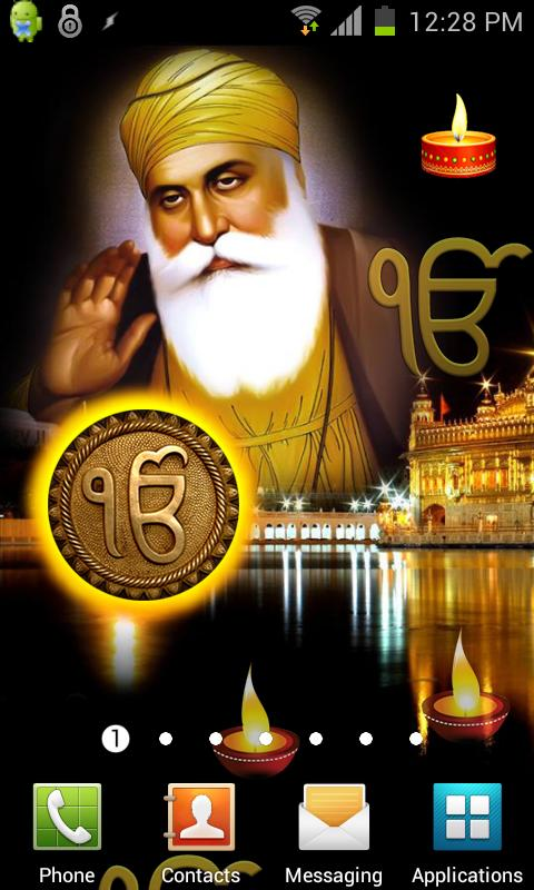 Guru Nanak HQ Live Wallpaper- screenshot