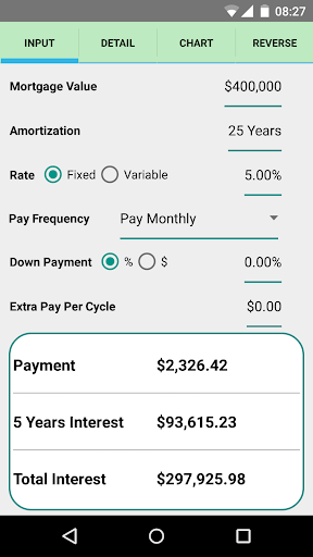 Simple Mortgage Calculator