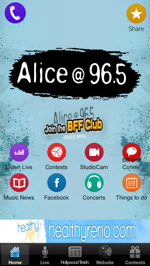 Alice 965 - screenshot