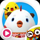 꼬꼬맘과 알록달록 색칠놀이 by 토모키즈 icon