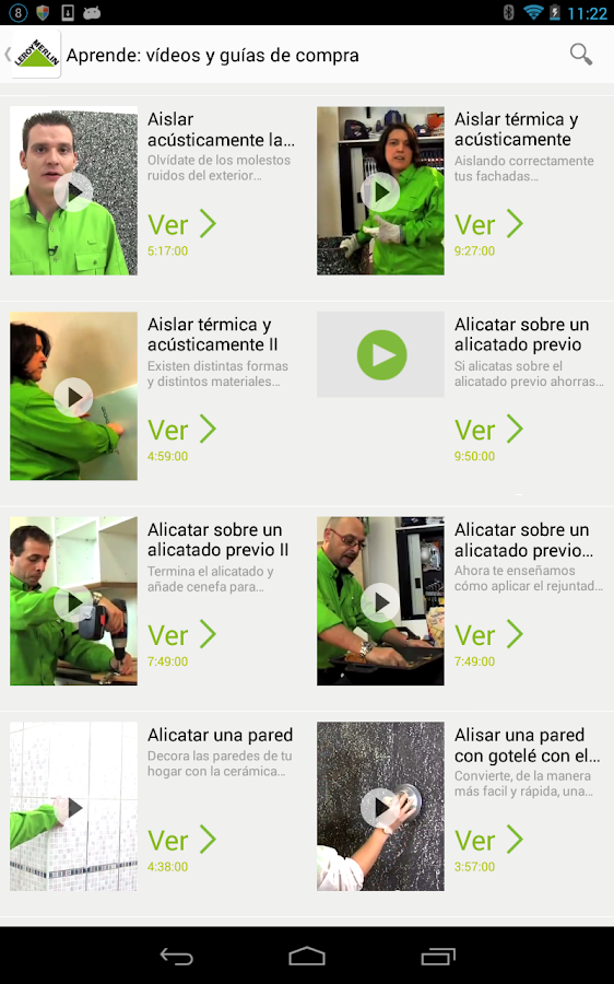 Folletos e ideas leroy merlin aplicaciones de android en for Folleto leroy merlin