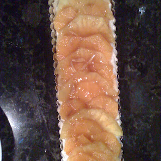 Italian Sweet Cream Citrus Tart.
