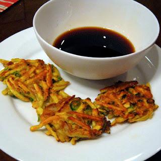 Sweet Potato and Kimchi Pancakes
