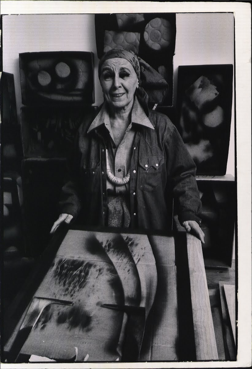 Louise Nevelson-Sculptor