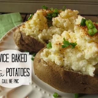 Twice Baked Feta Potatoes / Call Me PMc