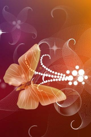 Butterfly 3D Live Wallpaper - screenshot