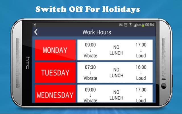 I'm @ Work Trial Ringer Volume - screenshot