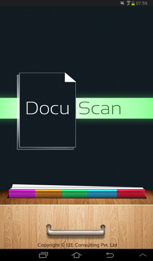 Docu Scan - Convert to PDF - screenshot