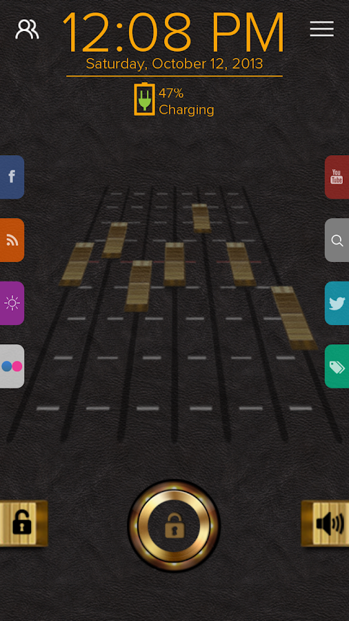 Equalizer - Start Theme - screenshot
