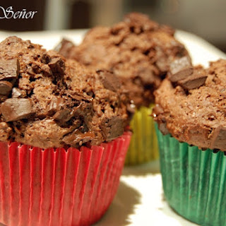 Coconut Chocolate Muffins.