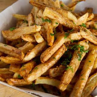 Ballpark-Style Garlic Fries.