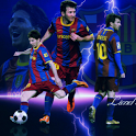 Lionel Messi HD live wallpaper icon