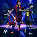 Lionel Messi HD live wallpaper icon