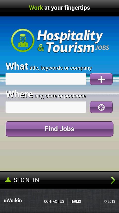 Hospitality Jobs - screenshot