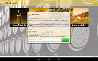 Screenshot of Whisky App