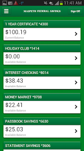 Maspeth Savings Mobile- screenshot thumbnail