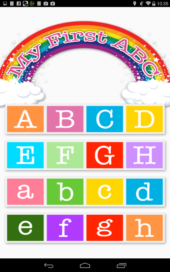 My First ABC Alphabets - Android Apps on Google Play