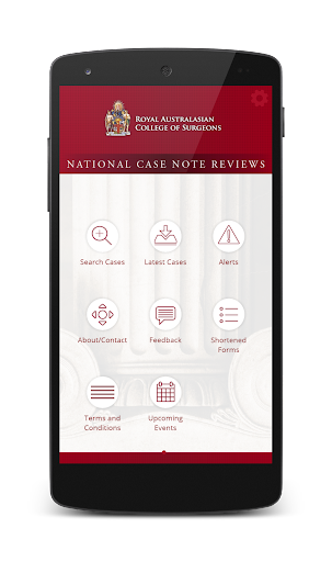 RACS National Case Note Review