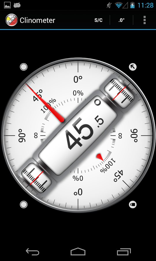 Clinometer Bubble Level Android Apps On Google Play