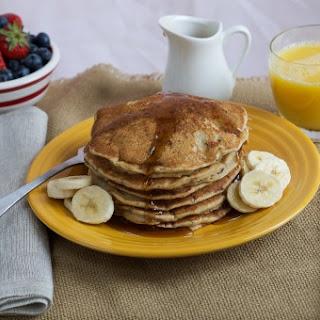 Multigrain Banana Pancakes.