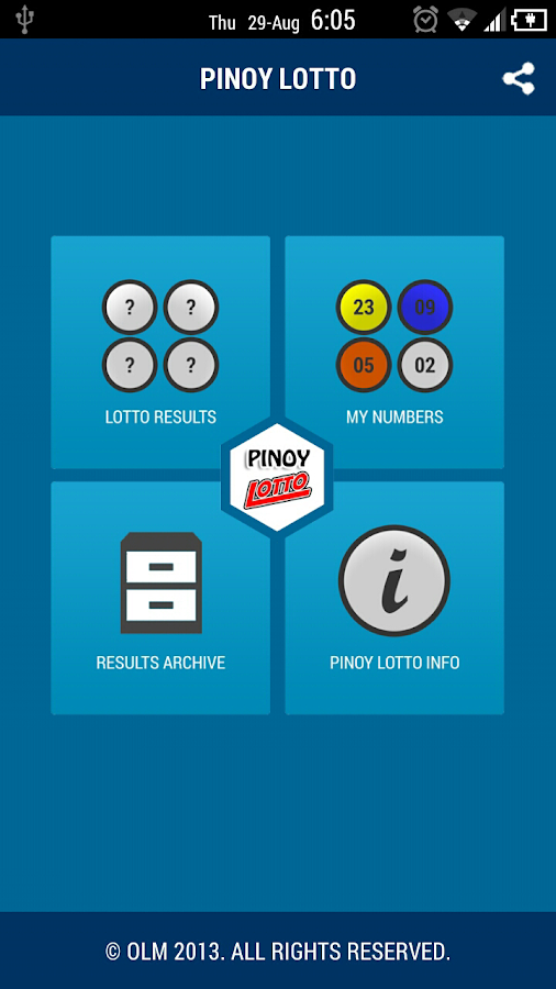 Pinoy Lotto Donate - screenshot