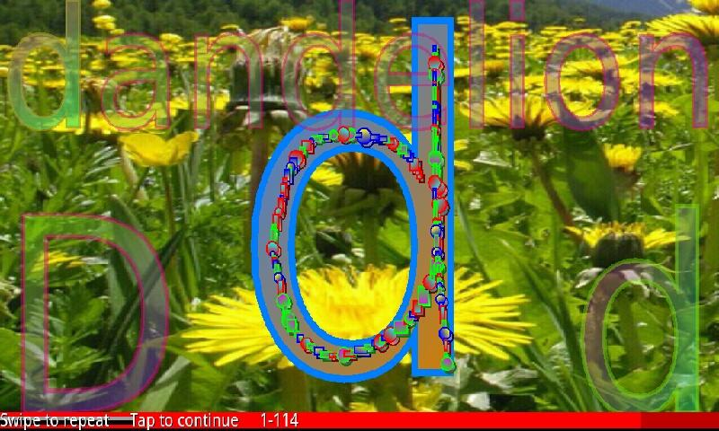 Easy Flower Alphabet 1 FREE- screenshot