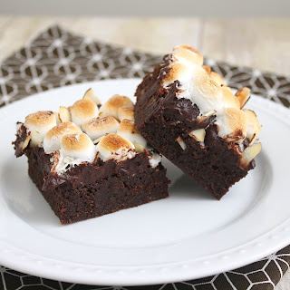 Banana Split Brownies.